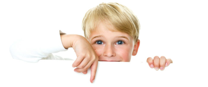peeking-little-boy-istock