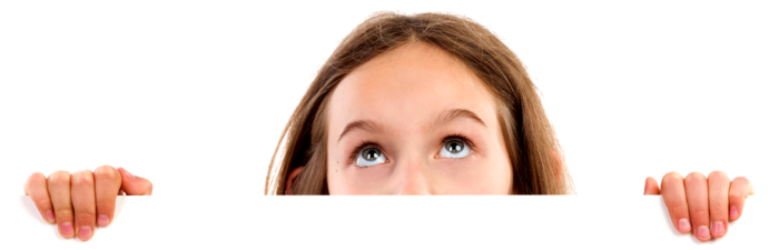 peeking-little-girl-istock